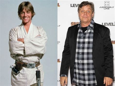 mark hamill now luke skywalker mark hamill then and now can 180 t help