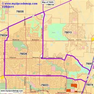 Zip Code Map Plano TX
