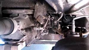 External Footage Of 1993 Toyota Previa Transmission With