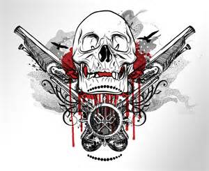 Pirate Skull Tattoo Designs