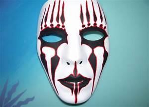 Joey Jordison Mask by SkitsoSquirrel on DeviantArt