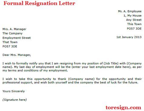 resignation letter  due  illness toresigncom