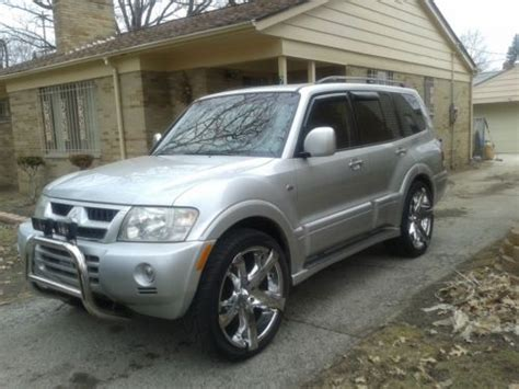 Mitsubishi Montero Limited 2003 by Purchase Used 2003 Mitsubishi Montero Limited Sport