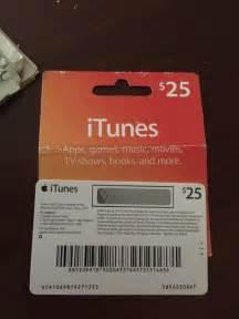 25 Dollar iTunes Gift Card