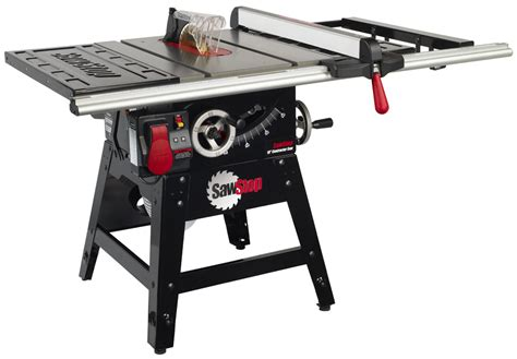 sawstop industrial table saw sawstop cns sfa 30 quot aluminum extrusion fence system
