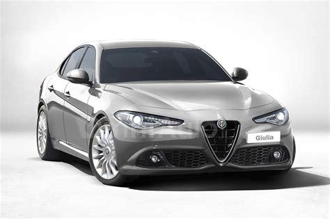 Foto Alfa Romeo Giulia, Il Rendering Della