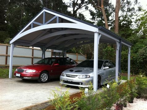 Timber Car Ports by Carports Attractive Timber Complete Kits Ebay