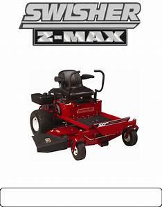 Swisher Lawn Mower Zt2350a User Guide