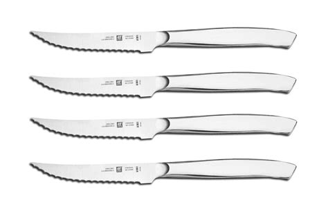 wusthof vs henckels four zwilling j a henckels stainless steel serrated mignon