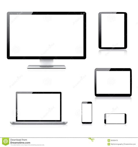 modern smartphone vector vector free realistic computer laptop tablet and smartphone royalty