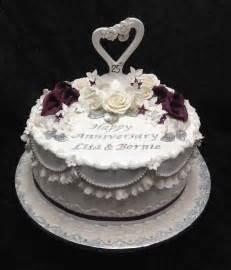 25th anniversary cake cakes
