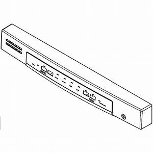 Dishwasher User Interface Wd21x10488 Parts