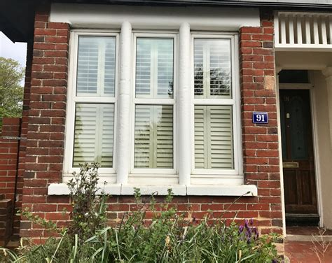 uk shutters bay window shutters fitted in southton hshire