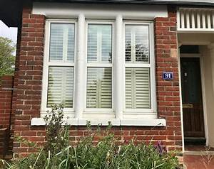 Bay, Window, Shutters, Fitted, In, Southampton, Hampshire