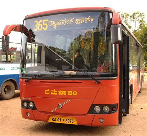 bmtc volvo  bmtc monthly pass   easier