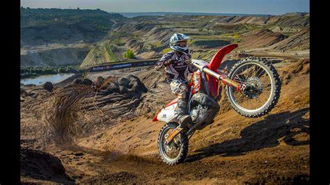 Hard Enduro Racing Through A Coal Mine