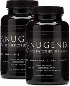 Nugenix Free Testosterone Booster  Test Booster  90 Ct  2 Pack - Walmart Com