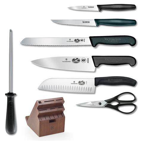 Victorinox Kitchen Knives Fibrox by Victorinox Fibrox Pro 13 Knife Set W Swivel Block