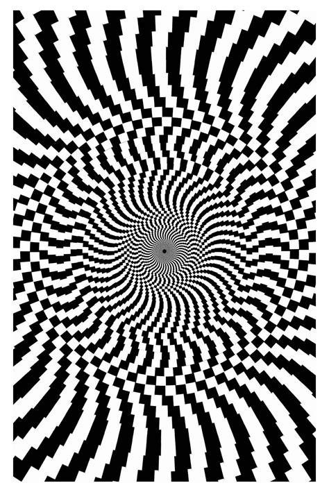op art big optical illusions op art adult coloring