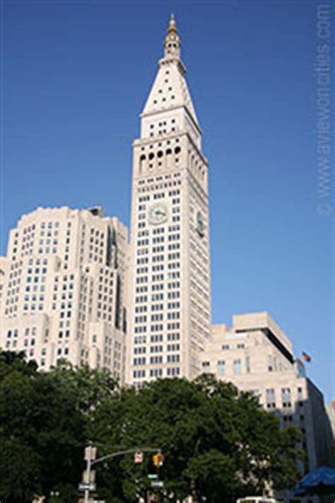 metropolitan life insurance tower  york building info