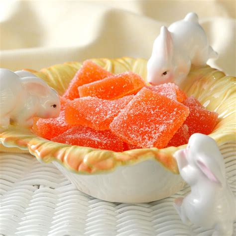 jelly recipes orange jelly candies recipe taste of home