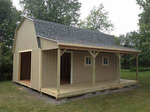 BARNS W/ PORCH - THE SHED GUY
