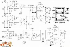 Tda1521 Produced 2 1 Computer Subwoofer Speaker Circuit