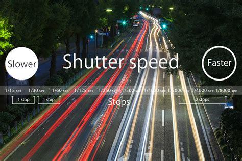 what is a shutter speed basics 2 shutter speed