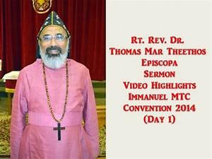 Rt. Rev. Dr. Thomas Mar Theethos Episcopa Video Highlights ...