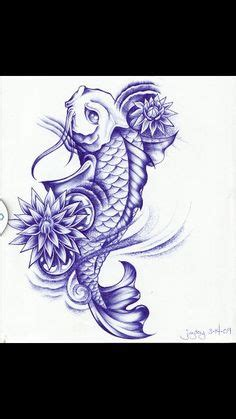 girly koi fish tattoos girly koi cb  lotus color