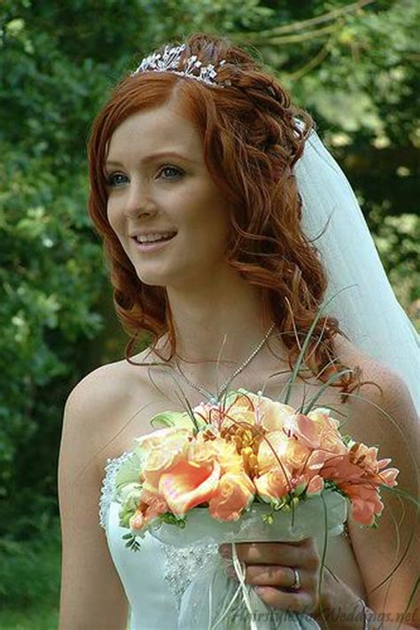 long     wedding hairstyles  tiaracherry