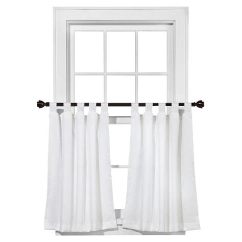 room essentials cafe curtain tiers chesapeake pair