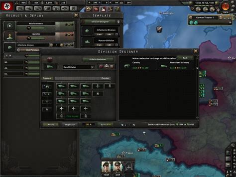 hoi4 division template how come i can t add artillery to this template hoi4