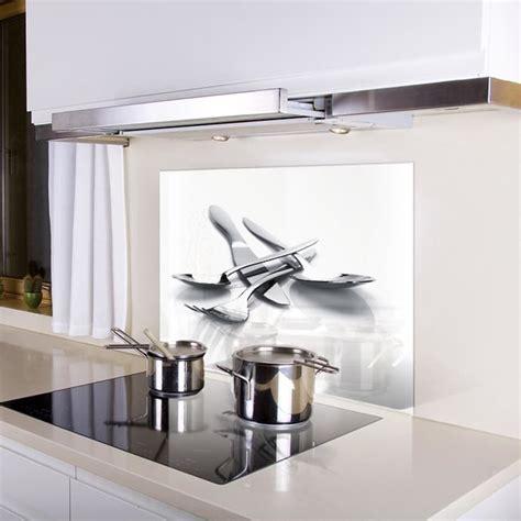 plaque en verre pour cuisine kozeodeco crédence de cuisine en verre achat vente