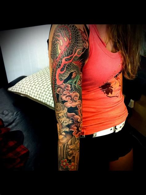 tatouage dragon japonais les tatouages