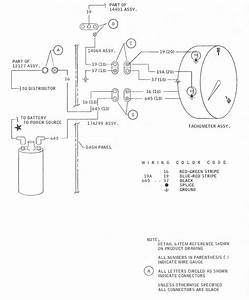 Ford Mustang 1968 Tachometer Wiring Diagram