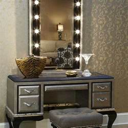 vanity narrow white makeup table with standing also tables lights mirror light bulbs and