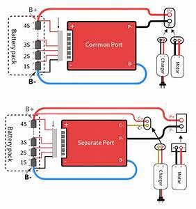 Bms Battery Management System 24v 7s 25a