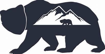Bear Silhouette Alaska Grizzly Vectorified Clipartmag Alaskan
