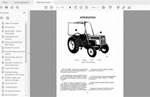 Case Ih Tractor 464 Operator U0026 39 S Manual 1084162r2