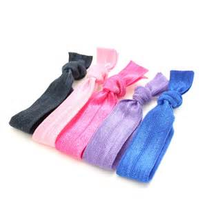 no dent hair ties 5 hair tie package elastic ribbon