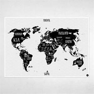 Bilder Schwarz Weiß Gemalt : die besten 25 weltkarte schwarz wei ideen auf pinterest weltkarte poster poster schwarz ~ Eleganceandgraceweddings.com Haus und Dekorationen
