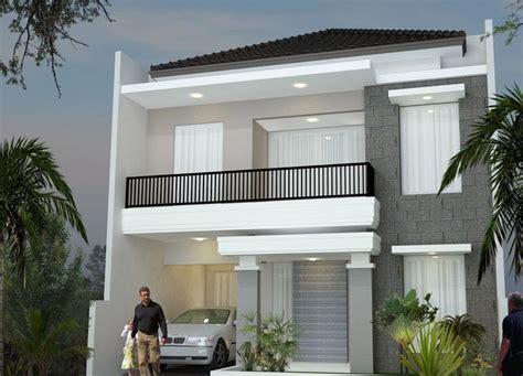 minimalist design house  floor desain rumah minimalis
