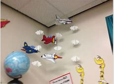 Classroom Decorations Airplane Mobile Circle Time and