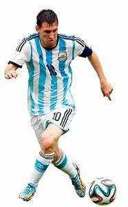 Lionel Messi football render - 5435 - FootyRenders