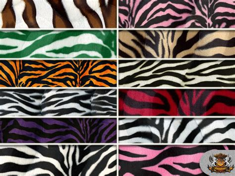 Animal Print Upholstery Fabric By The Yard by Zebra Velboa Faux Fur Fabric Animal Print 60 Quot Wide