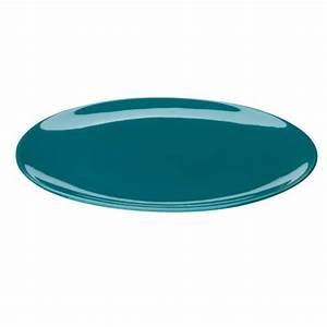 Assiette Bleu Canard : assiette plate bleue ~ Teatrodelosmanantiales.com Idées de Décoration