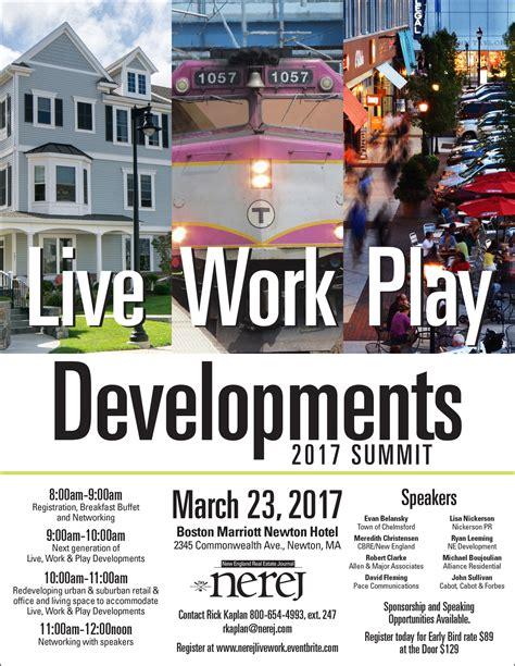 work play developments summit  nhcibor