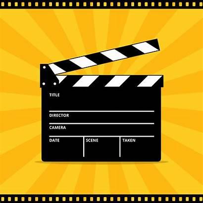 Vector Clapper Board Film Clipart Graphics Edit