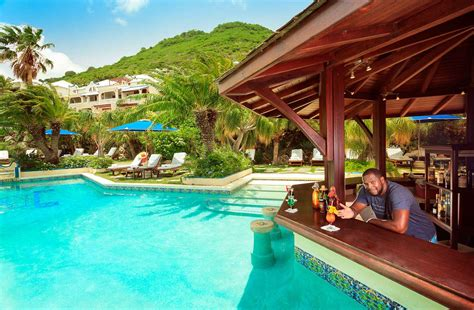 Pool Bar by Pool Bar Le Petit Hotel Grand St Martin